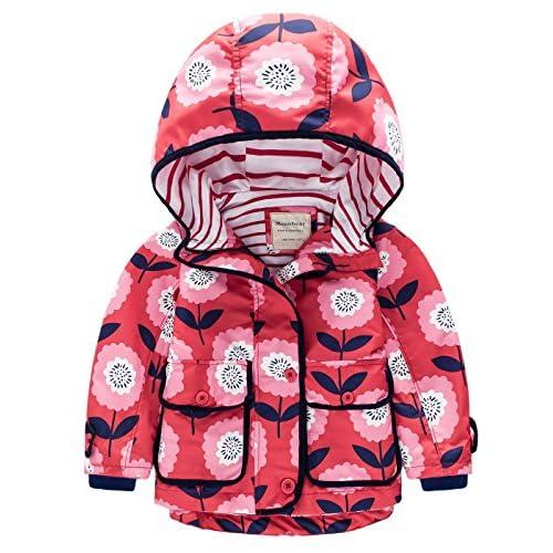 cf27d4cd818c1 Jacket Coupe-Vent Veste Pour Enfant fille garçon Poncho de Pluie Imperméable  Hoodies avec Capuche