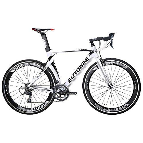 Eurobike Road Bike EURXC7000 54CM Light Aluminum Frame 16 Speed 700C Road Bicycle