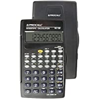 Calculadora Cientifica 10 Digitos Mod.Sc 128 C/Capa - 01 Unidade ProCalc, Multicor