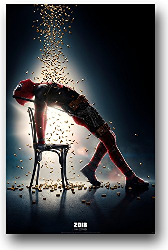 Deadpool 2 Poster - Movie Promo 11 x 17 Flashdance with two