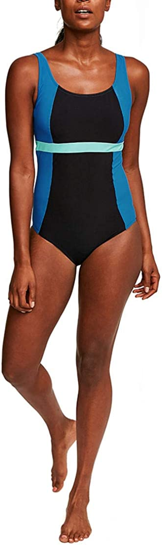 Figleaves Womens Freestyle High Neck Swimsuit