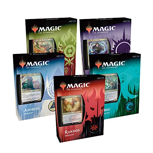 Magic: The Gathering Ravnica Allegiance Guild Kits | 5 Ready-to-Play 60-Card Decks | Accessories | Factory - Magic Ravnica Mtg