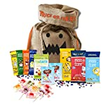 British Halloween Trick Or Treat Retro Candy Bag Moo Free Vegan Gluten Free YumEarth Candy Assortment