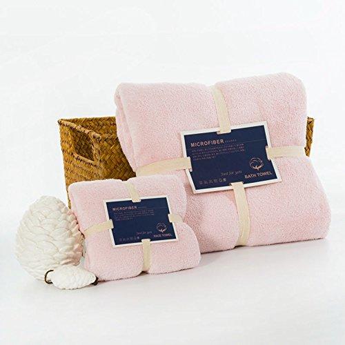 Fashion MicroFiber Tower Set Face Towel Bath Towel Home Bathroom - Designers Fashion Wiki
