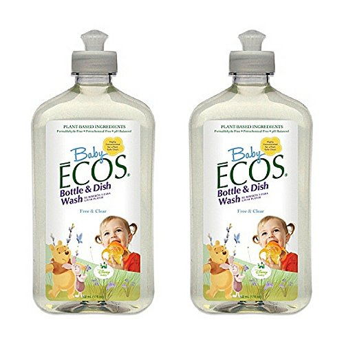 Earth Friendly Products Baby Ecos Bottle and Dish Wash Free