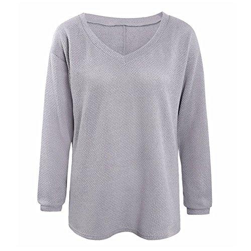 Olanstar - Jerséi - para mujer gris