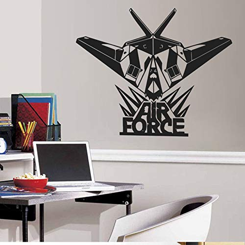 - Wall Art Decal Sticker Words Wall Saying Words Removable Mural US Army Air Force for Nursery Children Kids Room Bedroom Decor