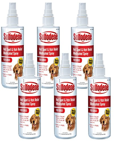 Sulfodene Medicated Hot Spot Itch Relief Spray For Dogs