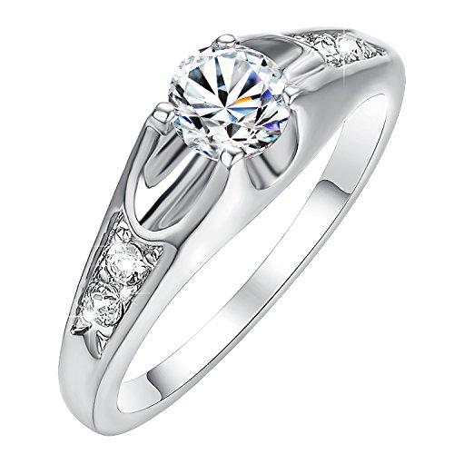 Yoursfs 18k Diamond Wedding Ring (Gold) - 9