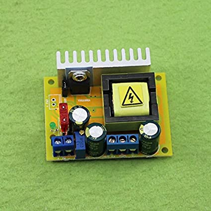 DC-DC 8-32V to 45V-390V Step-up Module ZVS High Voltage Capacitor Charge Board