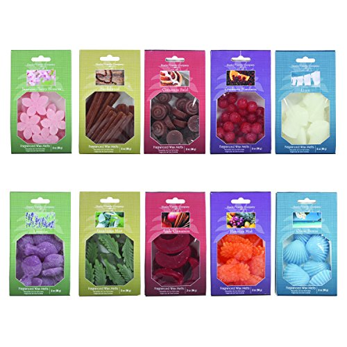Aromatherapy Hosley 20 oz Assorted Shaped & scented Wax Melt