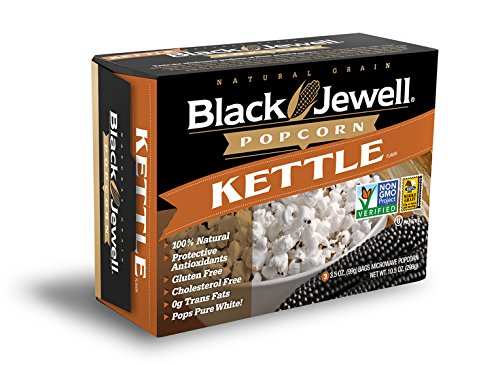 Black Jewell Premium Microwave Popcorn, Kettle, 3-Count, 10.5-Ounce Boxes (Pack of 6) (Black Jewel Popcorn Microwave compare prices)