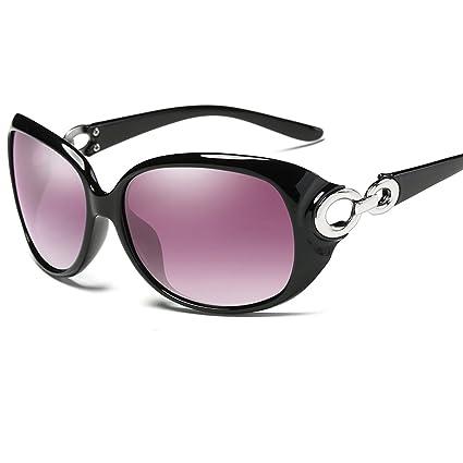 Gafas de sol Gafas De Sol Polarizadas Luz De La Moda De Doble Anillo Big Frame