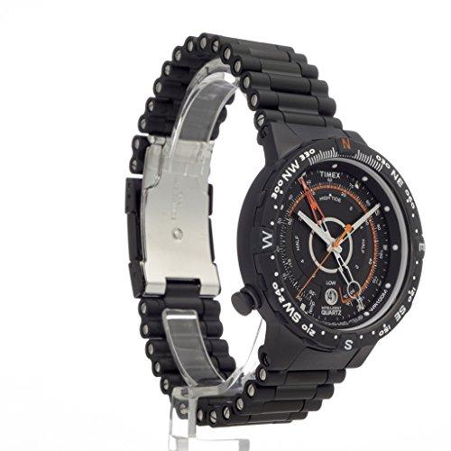 Timex Expedition Intelligent Quartz Tide Temperature Compass Watch Manual  Timex men s t49859 intelligent quartz compass tide temperature silver case  black ... c3fbb3f21460