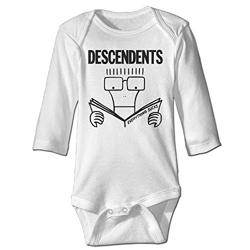 Fashionable Descendents Everything Sucks Punk Rock Baby's Onesie Baby Outfits Baby Coverall ()