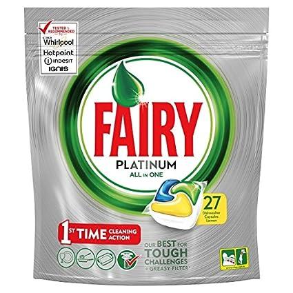 Fairy Platinum Lemon 27 Pack: Amazon.com: Grocery & Gourmet Food