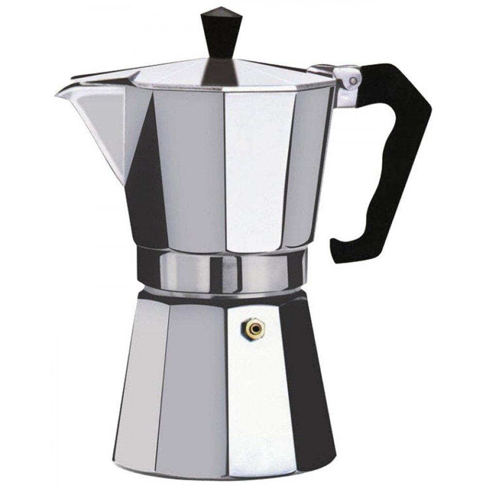 Euro-Home - CaffeXspress 6 Cup Aluminum Espresso Coffee Maker - Barista quality espresso maker. by Euro-Home (Image #3)