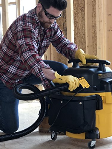DEWALT DXV10P 10 Gallon Quiet Poly Wet Dry Vacuum Yellow by DEWALT (Image #4)