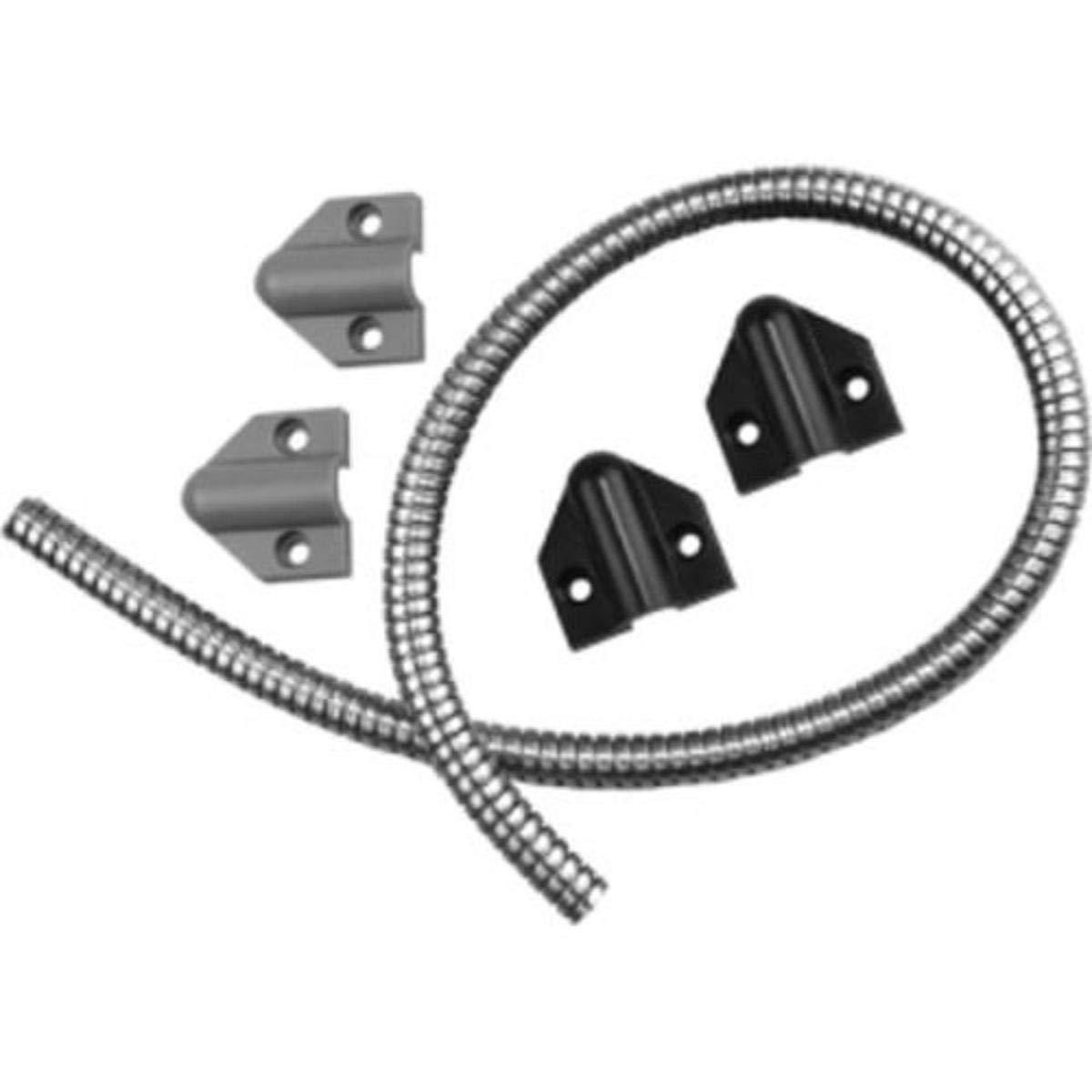 Securitron Stainless Steel Door Cord 18 in Tsb-c LT Gray or Black Caps for sale online
