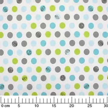 Fabric Backyard Baby   Lotsa Dots X10cm