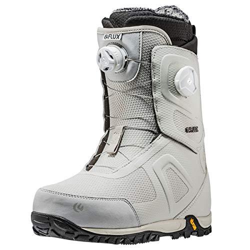 18-19 FLUX フラックス ブーツ OM-BOA オーエム ボア オムニ スノーボードブーツ BOOTS メンズ 正規品 B07GDBT8Y8 26.0cm|WHITE WHITE 26.0cm