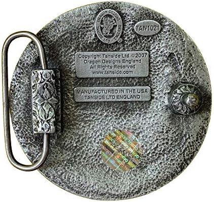 Boucle de ceinture celtique avec boîte de présentation
