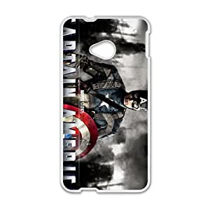 HUAH Captain America Cell Phone Case for HTC One M7