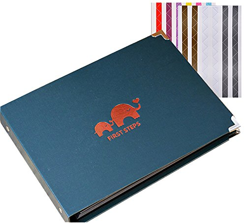 FORUSKY 60 Pages 27 x 19 cm DIY Scrapbook Travel Recording Album,Wedding Anniversary Book for Instant Mini 70 7S 8 8+ 9 25 26...