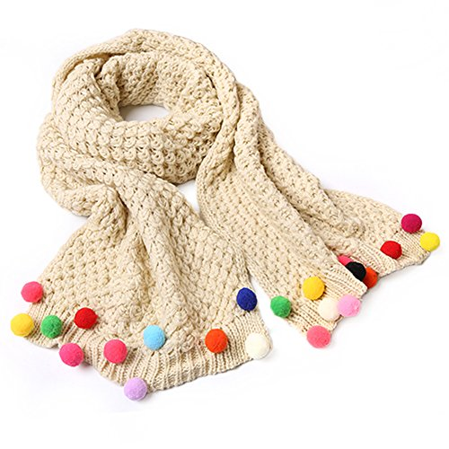 EUBUY Toddler Weather Knitted Scarves product image