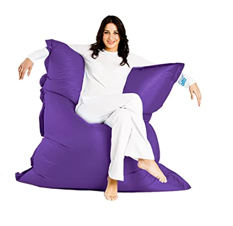 Alta Jumbo Bean Bag Chair. Big Sofa Cover Made Stain And Water Resistant  For Indoor