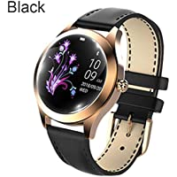 Smartwatch para Mujer, Modo multideportivo, Pulsera Inteligente, Correa de Acero, Reloj de