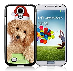 linJUN FENGCustomization Samsung S4 TPU Protective Skin Cover Christmas Dog Black Samsung Galaxy S4 i9500 Case 20