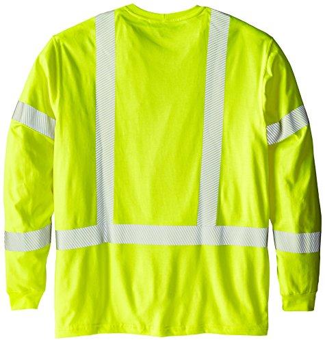 Carhartt-Mens-Big-Tall-Flame-Resistant-High-Visibility-Long-Sleeve-T-Shirt-Class-3