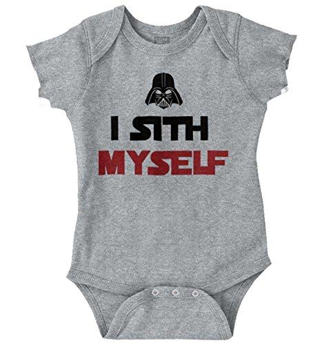 Pooped Myself Funny Baby Sci-Fi Nerdy Geeky Romper Bodysuit