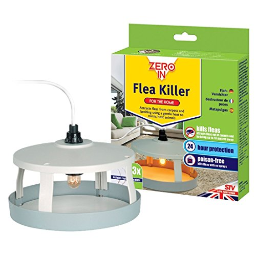 Zero In Flea Killer (Mains Powered, Effective Flea Killer for the Home,...