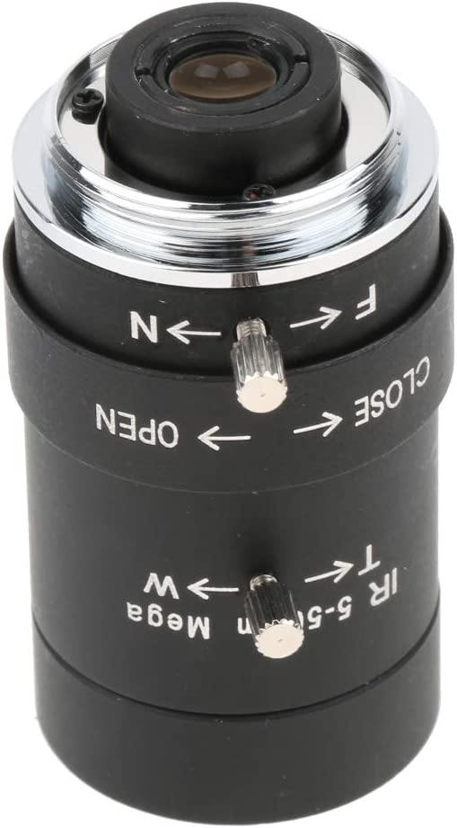 CCTV Camera Lens 1.3MP 5-50mm Varifocal Lenses Manual IRIS CS-Mount