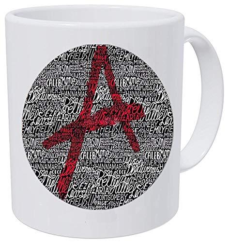 Pretty little liars logo Copper Chain Women Choker Statement 1 Coffee Mug]()