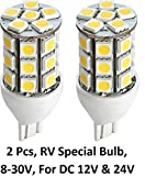 Gold Stars 92100025 Replacement LED Bulb 921 Base Tower 280 Lums 12v or 24v Natural White (2)