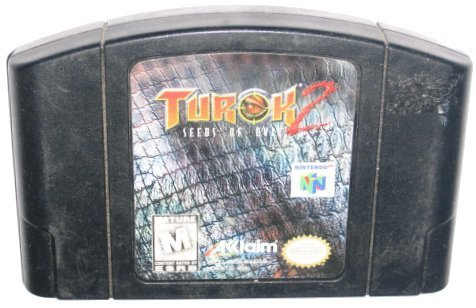 Turok 2 Seeds of Evil Nintendo 64 Video Game (Turok 2 Seeds Of Evil Nintendo 64)