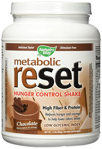 Nature's Way Metabolic ReSet Shake Mix Chocolate - 1.4 (Metabolic Shake)
