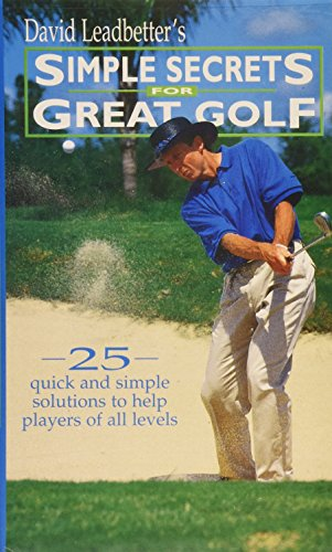 Leadbetter Training - David Leadbetter's Simple Secrets for Great Golf - Video [VHS]