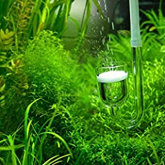 This total-solution CO2 diffuser literally breathes life into the aquarium, delivering hydrophytes the carbon dioxide they require in order to photosynthesize and thrive - and aquatic fauna, in turn, gets a plant-rich habitat conducive to bre...
