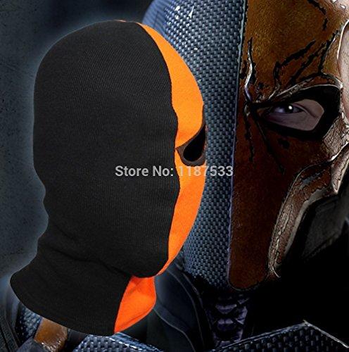 [2015 - One-Eyed Deathstroke Terminator Mask Halloween Costume Arrow Masks Balaclava Single-Eyed Deathstroke Full Face] (Deathstroke The Terminator Costume)