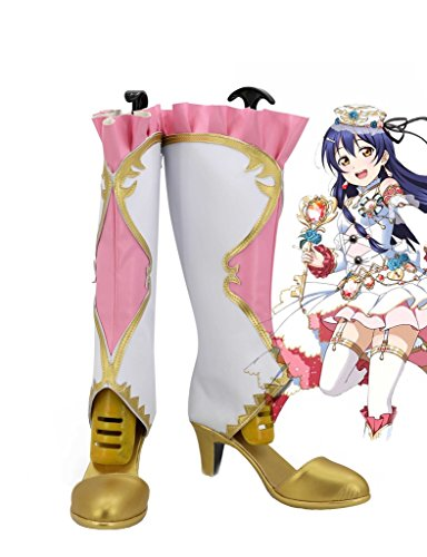 project Made idol LoveLive Boots Custom Umi Birthstone Shoes Sonoda Cosplay Awakening School 1wqqEWPUf
