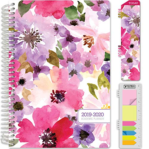 2018 Academic Planner - HARDCOVER Academic Planner 2019-2020: (June 2018 Through July 2020) 5.5