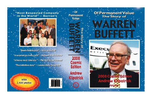 Download Of Permanent Value: The Story of Warren Buffett/2008 Cosmic Edition/2 volumes ebook