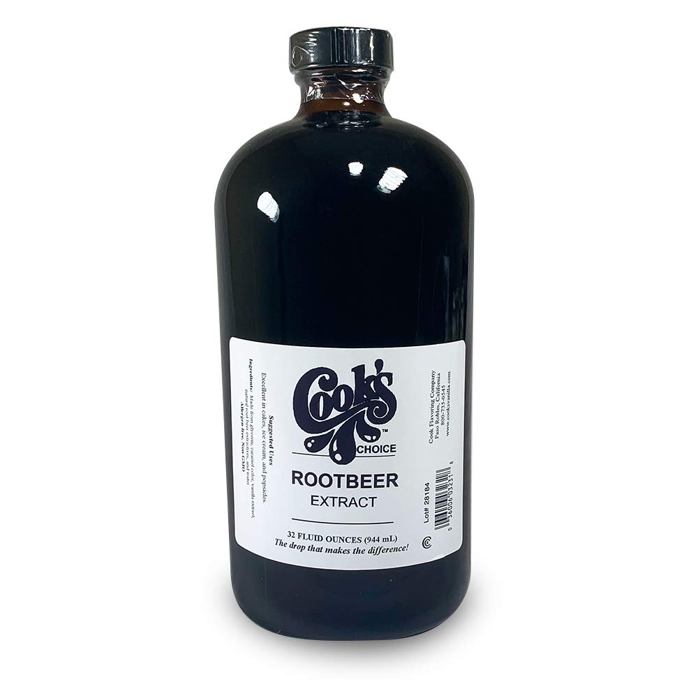 Cook's, Choice Root Beer Extract, 32 oz by cooks