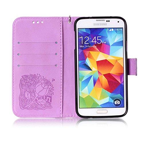 para de Samsung Funda de Shell smartphone Caso silicona 5 13 De 1 Polvo marrón Piel móvil PC PU 4 nbsp;pulgadas nbsp;Mini Galaxy cubierta Conector Carcasa Carcasa Cover teléfono Painted S5 Case H5OqT