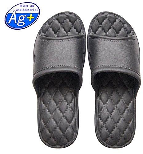 Happy Lily Women/Men's Slip On Slippers Non-slip Shower Sandals House Mule Soft Foams Sole Pool Shoes Bathroom Slide Water Shoes – DiZiSports Store