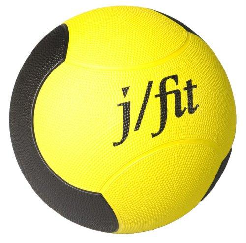 J/fit 8lb Premium Rubberized Medicine Ball